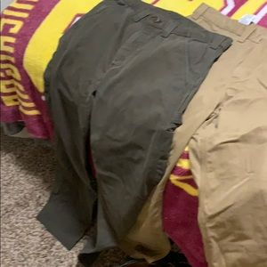 (2) Carhartt relaxed fit pants